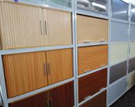 余った材料の角パイプで製作した移動棚