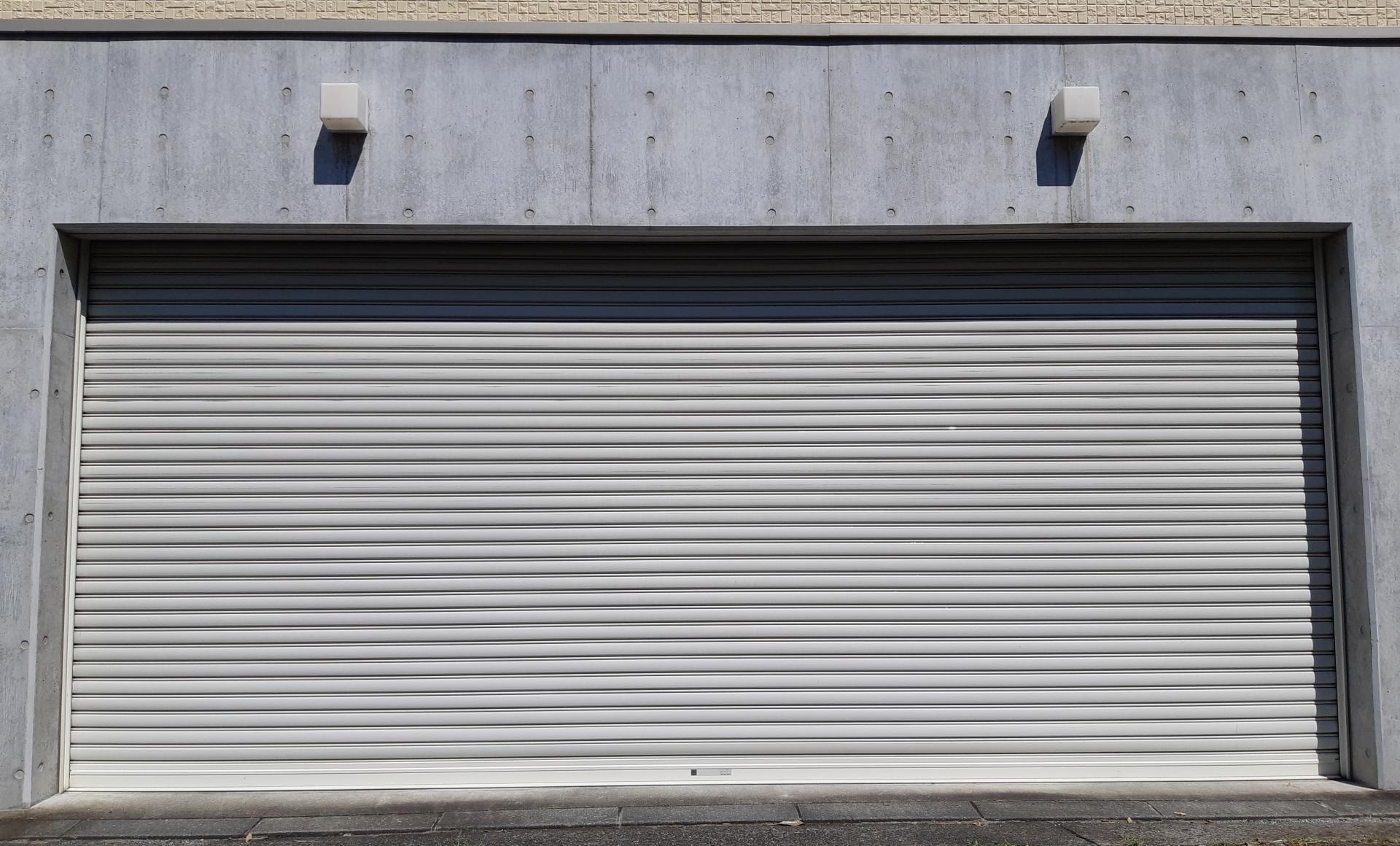 電動のガレージシャッター
